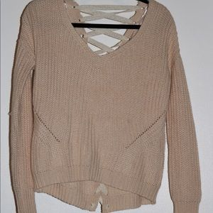 Brand new beige sweater